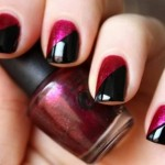 Cool Black Red Nail Color Ideas , 6 Black Red Nail Design In Nail Category