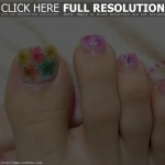 Cool Floral Toe Nail Designs , 6 Easy Toe Nail Designs In Nail Category