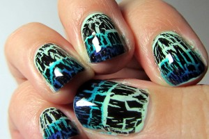600x537px 6 Crackle Toe Nail Designs Picture in Nail