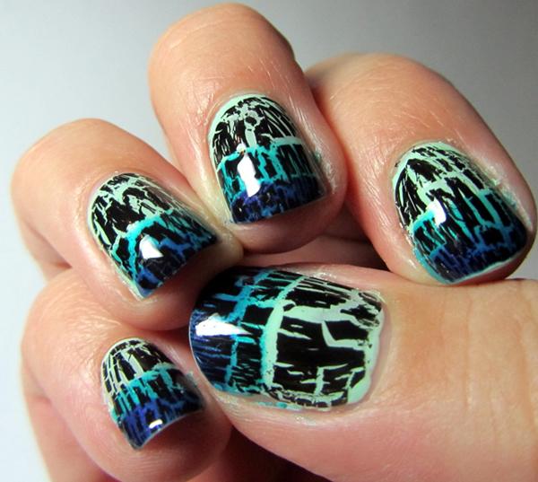 Nail , 6 Crackle Toe Nail Designs : Nail Polish Trend Crackle Nail Polish Toe Nail Art Nail Art Design ...