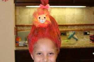 Hair Style , 7 Crazy Hair Day Styles For School : Crazy Hair Day At School
