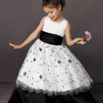 Little Girls Formal Party Gowns Flower GIrl Dress-in Flower Girl ... , 6 Black Little Girl Dresses In Fashion Category