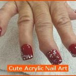 Cute Acrylic Nail Art , 6 Cute Acrylic Nail Designs In Nail Category