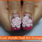 Cute Acrylic Nail Art Design , 6 Cute Acrylic Nail Designs In Nail Category