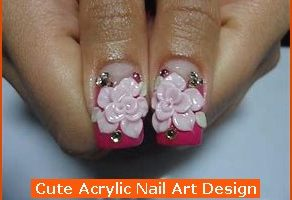 292x220px 6 Cute Acrylic Nail Designs Picture in Nail