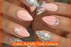 Nail , 6 Cute Acrylic Nail Designs : Cute Acrylic Nail Colors