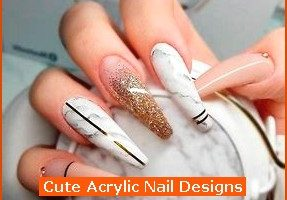 287x216px 6 Cute Acrylic Nail Designs Picture in Nail