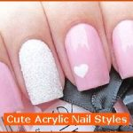 Cute Acrylic Nail Styles , 6 Cute Acrylic Nail Designs In Nail Category