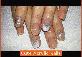 Nail , 6 Cute Acrylic Nail Designs : Cute Acrylic Nails
