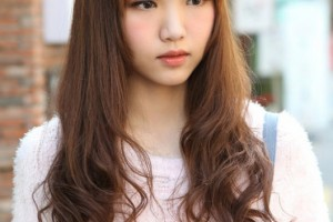 Hair Style , 4 Cute Styles For Long Hair : Cute Korean Hairstyle for Long Hair