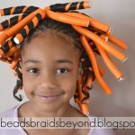 Little Girls Natural Hairstyle: Flexi-rod Set & Flat Twists on 4b Hair , 6 Little Girls Twist Hairstyles In Hair Style Category