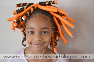Hair Style , 6 Little Girls Twist Hairstyles : Little Girls Natural Hairstyle: Flexi-rod Set & Flat Twists on 4b Hair