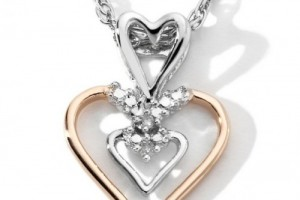 Jewelry , 7 Heart Necklaces For Women : Double Heart Necklaces for Women