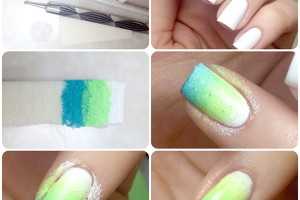 Nail , 7 Cool Nail Art Pen Designs : Easter Egg Nail Art