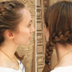 Easy Steps To A Side French Braid , 6 French Braid Hair Band In Hair Style Category