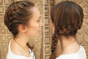 Hair Style , 6 French Braid Hair Band : Easy Steps To A Side French Braid