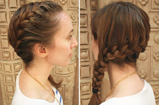 6 French Braid Hair Band in Hair Style