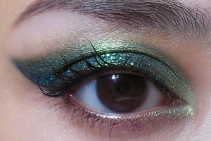 600x500px 5 Green Fairy Eye Makeup Picture in Make Up