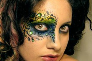 Make Up , 8 Eye Makeup For A Fairy : Fairy Swirls Makeup
