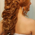 Fancy Half Ponytail , 7 Half Ponytail Hairstyles In Hair Style Category