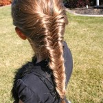 How to Fishtail French Braid | Long Hairstyles | Cute Girls Hairstyles , 6  Fishtail French Braid In Hair Style Category