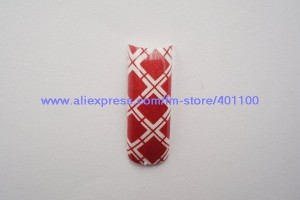 600x485px 6 Pre Designed Nail Tips Picture in Nail