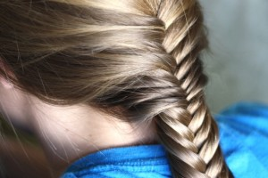 Hair Style , 5 Fishtail French Braid : French Braided Fishtail
