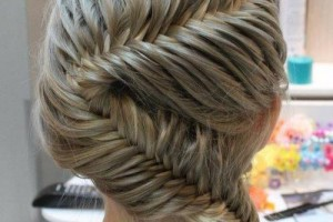 Hair Style , 5 Fishtail French Braid : French Fishtail Braid