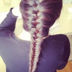 French Fishtail Braid Hairstyles , 5 Fishtail French Braid In Hair Style Category