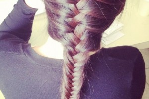 Hair Style , 5 Fishtail French Braid : French Fishtail Braid Hairstyles