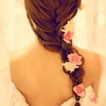 French Fishtail Braid for Wedding – A Romantic Wedding Hairstyle ... , 6  Fishtail French Braid In Hair Style Category