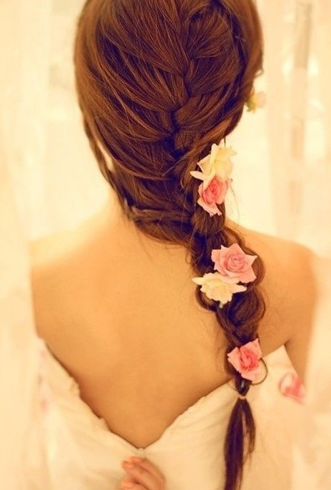 6  Fishtail French Braid in Hair Style
