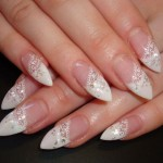 French Lace Nail Art , 10 Lace Nail Art Design In Nail Category