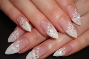 Nail , 10 Lace Nail Art Design : French Lace Nail Art