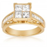 Gold Diamond Engagement Ring , 12 Gold Diamond Ring In Jewelry Category