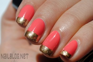 Nail , 6 Gold Nail Polish Ideas : Golden-I Sally Hansen Nail Polish