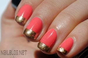 Nail , 6 Gold Nail Polish Ideas : Golden-I Sally Hansen Nail Polish