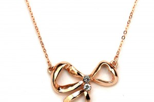 Jewelry , 8 Gold Necklaces For Women : Gold Rose Necklaces Womens