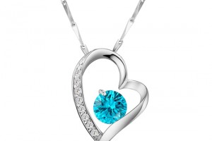 550x550px 7 Heart Necklaces For Women Picture in Jewelry