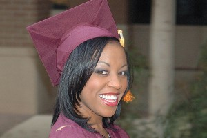Hair Style , Graduation Hairstyles For Black Girls : ... Hairstyles With Cap 300x225 Graduation Hairstyles For Black Girls