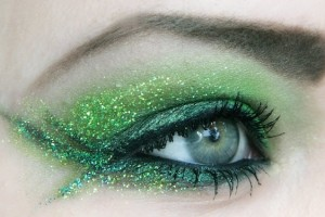 Make Up , 5 Green Fairy Eye Makeup : Green Fairy eye makeup