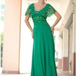Green Formal Dress - Vilma in Vintage Green Lace , 6 Green Vintage Prom Dress Designs In Fashion Category