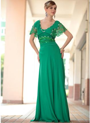 6 Green Vintage Prom Dress Designs in Fashion