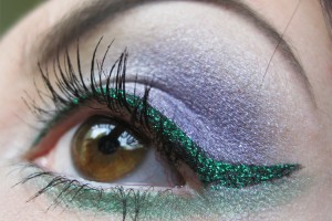 Make Up , 5 Green Fairy Eye Makeup : Green Lines Fairy eye makeup