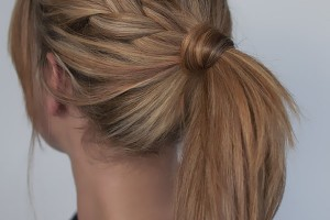 Hair Style , 6 Pretty Ponytail Hairstyles : braid adds a pretty twist