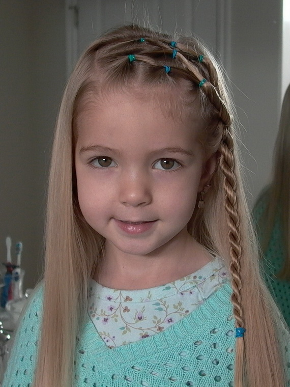 Hair Style , 6 Updos For Little Girls With Long Hair : Hairstyles For Little Girls