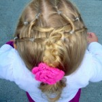 Hairstyles with Neon Green Rubber Bands , 7 Hairstyles With Rubber Bands In Hair Style Category