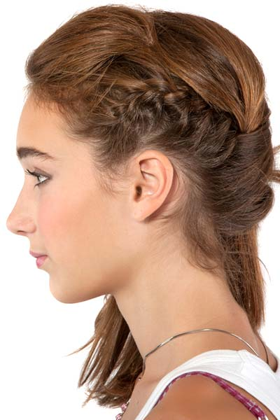6 Small Braided Hairstyles in Hair Style