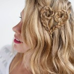 Heart Braid by Hair Romance , 4 Medium Length Hair Braid Styles In Hair Style Category