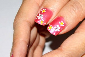 Nail , 6 Romantic Nail Art Design : Askmewhats: Nail Art Tutorial: